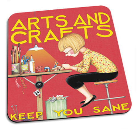 """Arts and Crafts"" Mousepad"