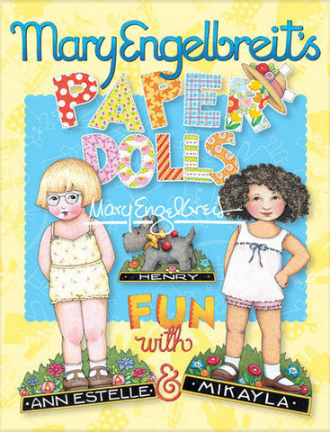 Paper Dolls, Fun with Ann Estelle and Mikayla Booklet