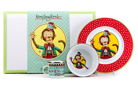 Monkey Child Dish Set