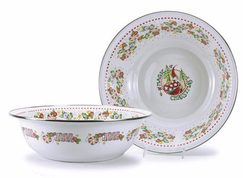 Christmas Magic Serving Bowl
