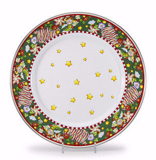 Christmas Magic Dinner Plate