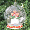 Noel Singers Glass Dome Ornament