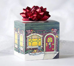 Holiday Home Gift Box Card