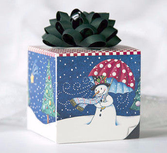 Let It Snow Gift Box Card