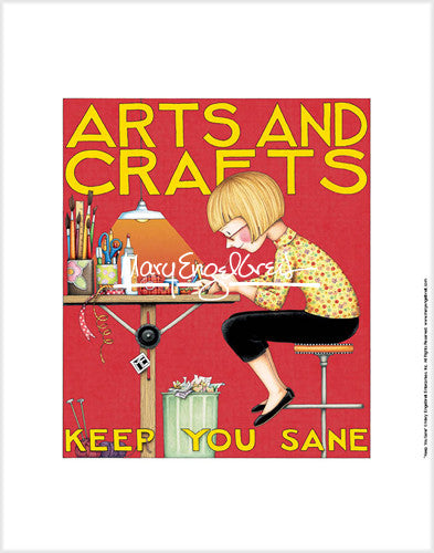 Arts and Crafts Fine Art Print