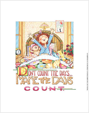 Make the Days Count Fine Print