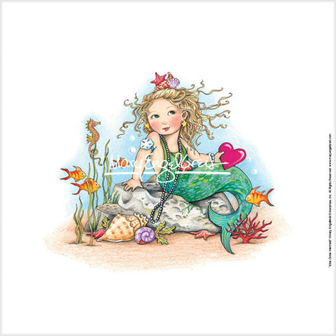 Ickle Ockle Mermaid Fine Print
