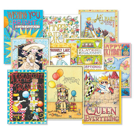 Birthday Card Bundle, 20 assorted