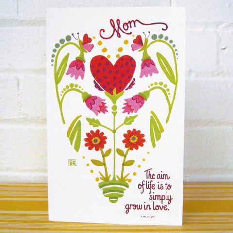 Grow in Love Valentine's Day Card