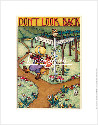 Don't Look Back Fine Print