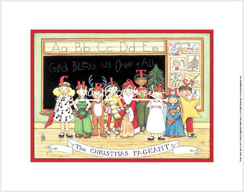 Christmas Pageant Fine Print