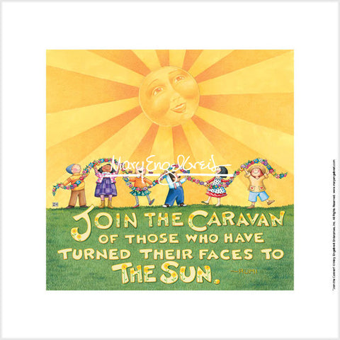 Join the Caravan Fine Art Print