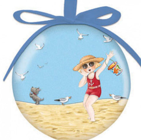 Summer Large Ball Ornament