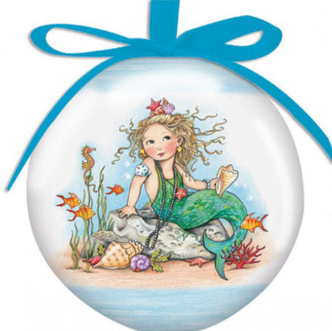 Mermaid Large Ball Ornament
