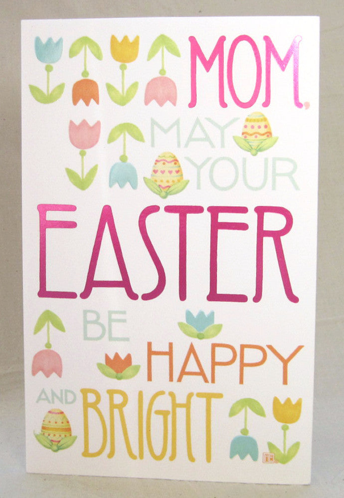 For Mom Easter Card