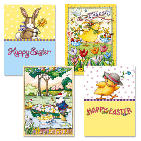 Easter Greeting Card Bundle 2, 8 assorted