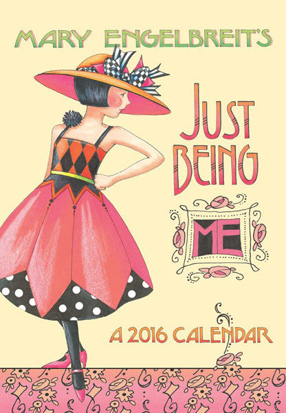 2016 monthly pocket planner just being me mary engelbreit