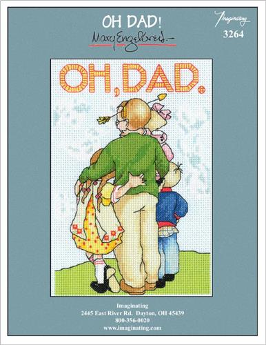 Oh Dad! Counted Cross Stitch Leaflet