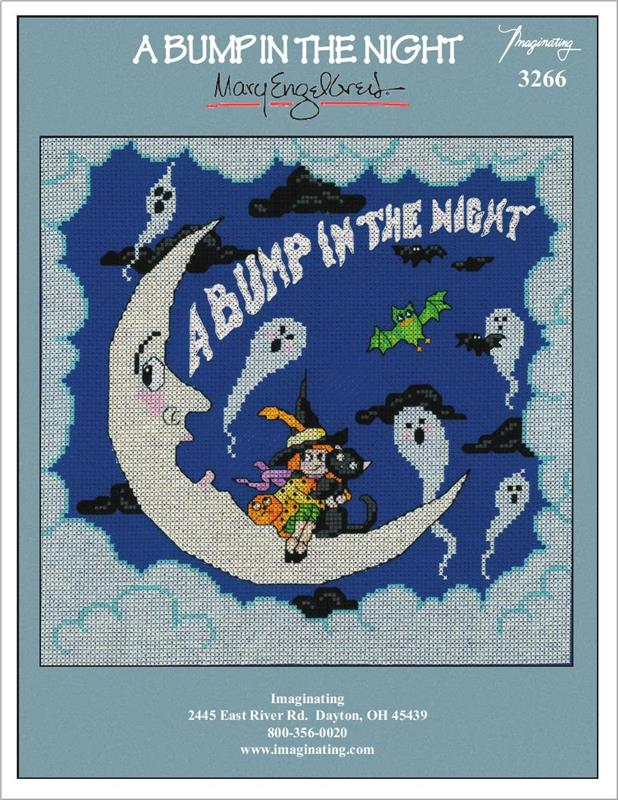 Bump in the Night Counted Cross Stitch Leaflet