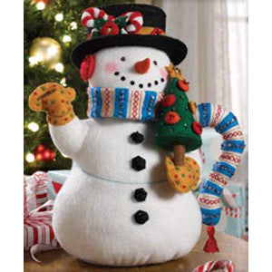 Snowman Tea Pot Craft Kit