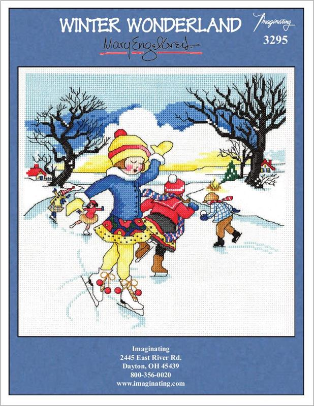 Winter Wonderland Counted Cross Stitch Leaflet