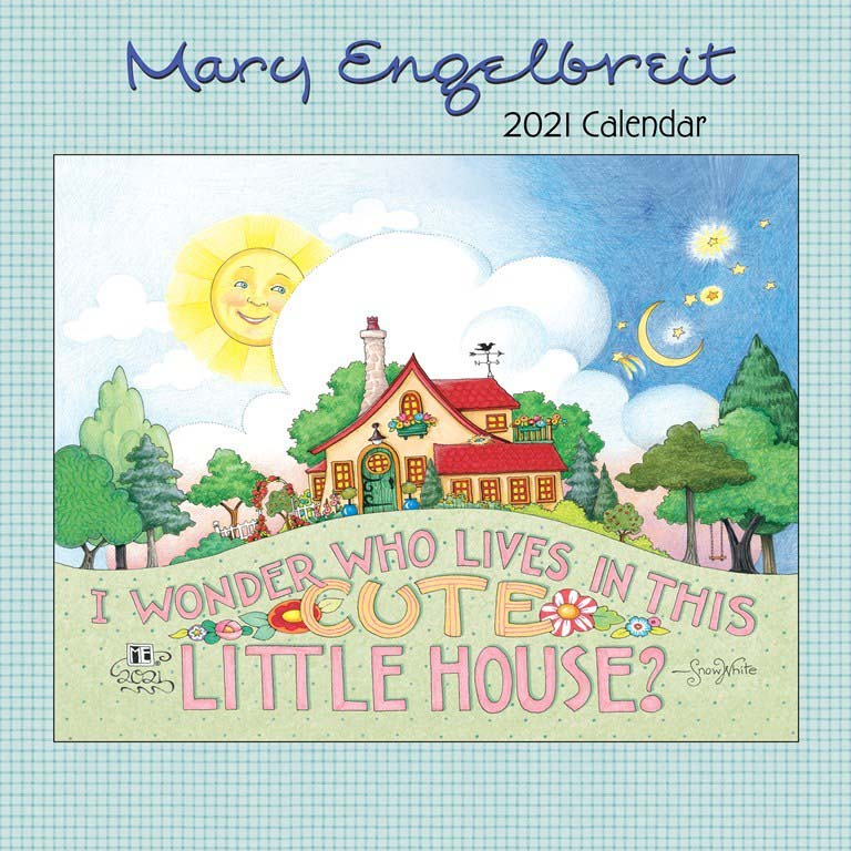 2021 Collectible Print Calendar - Cute Little House