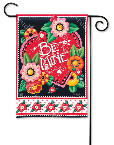 Valentine Be Mine Garden Flag