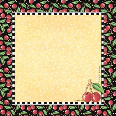 Cherries Cube Notepad