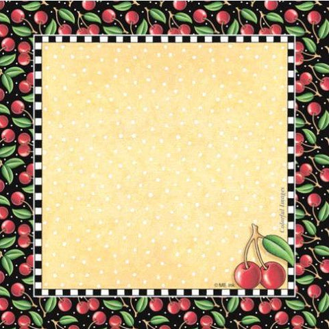 Cherries Cube Note Paper