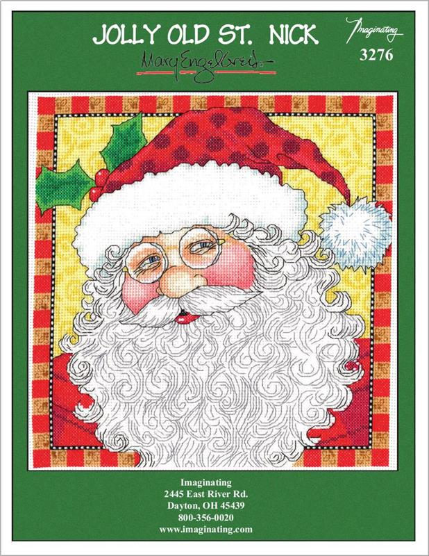 Twas Santa Counted Cross Stitch Leaflet