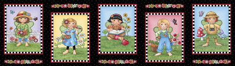 Mary's Fairies Picture Patch - Panel