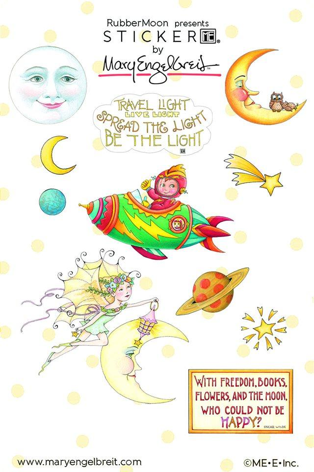 Mary's Moonbeam Sticker Sheet