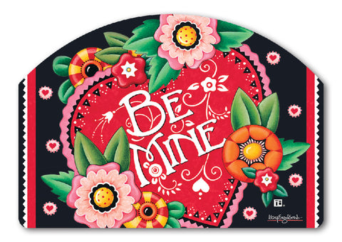 Valentine Be Mine Yard DeSign Magnet