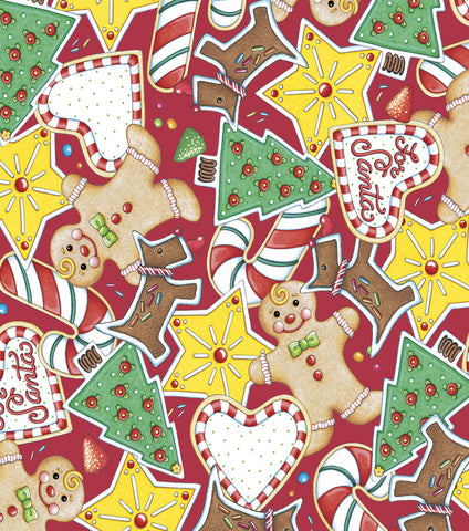Packed Cookie Toss Fabric