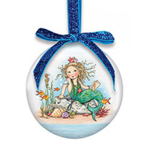 Mermaid Small Ball Ornament