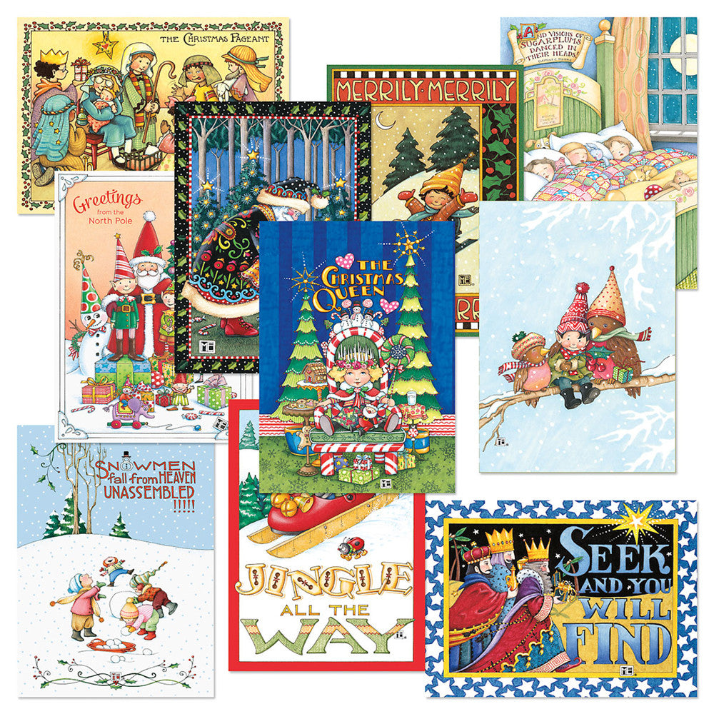 Christmas Card Bundle Mary Engelbreit
