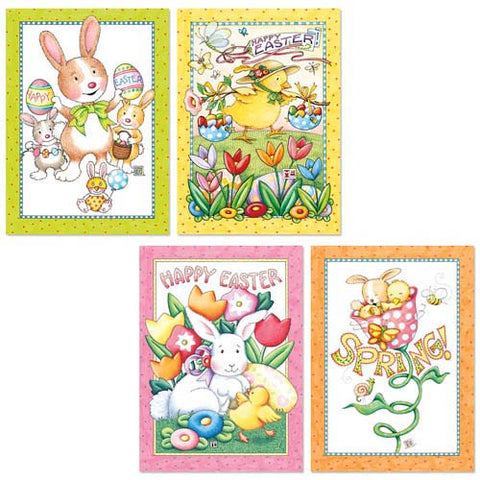 Easter Greeting Card Bundle, 8 assorted