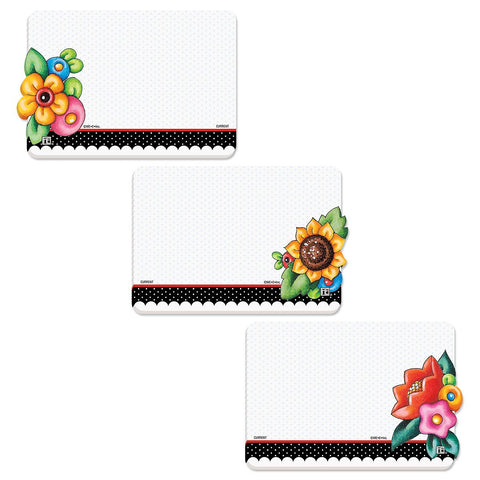 Big Flower Notepad Set
