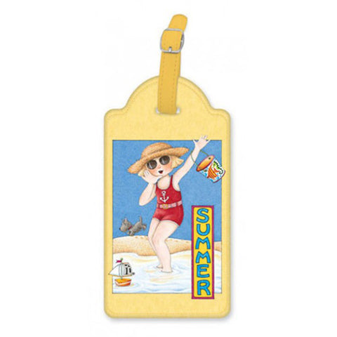 Summer Luggage Tag