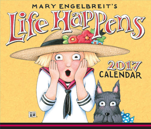 2017 Day to Day Calendar: Life Happens