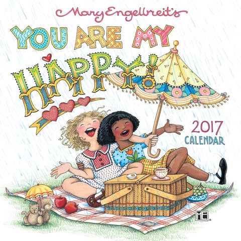 2017 Mini Wall Calendar: You Are My Happy