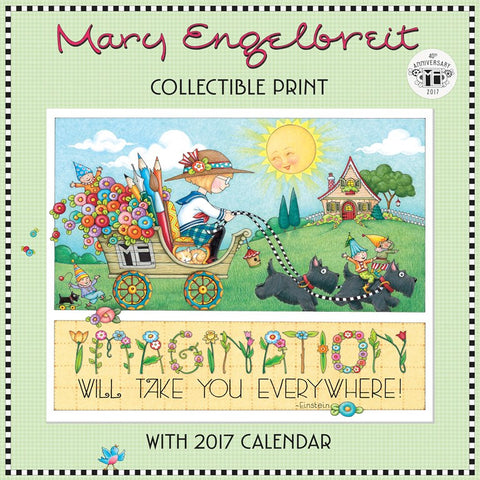 2017 Wall Calendar: 40th Anniversary with Collectible Print