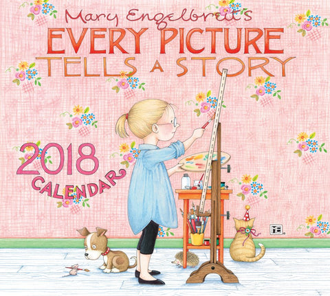 2018 Deluxe Wall Calendar: Every Picture Tells a Story
