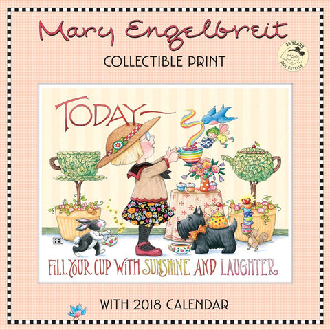Collectible Print with 2018 Calendar: 35 Years of Ann Estelle