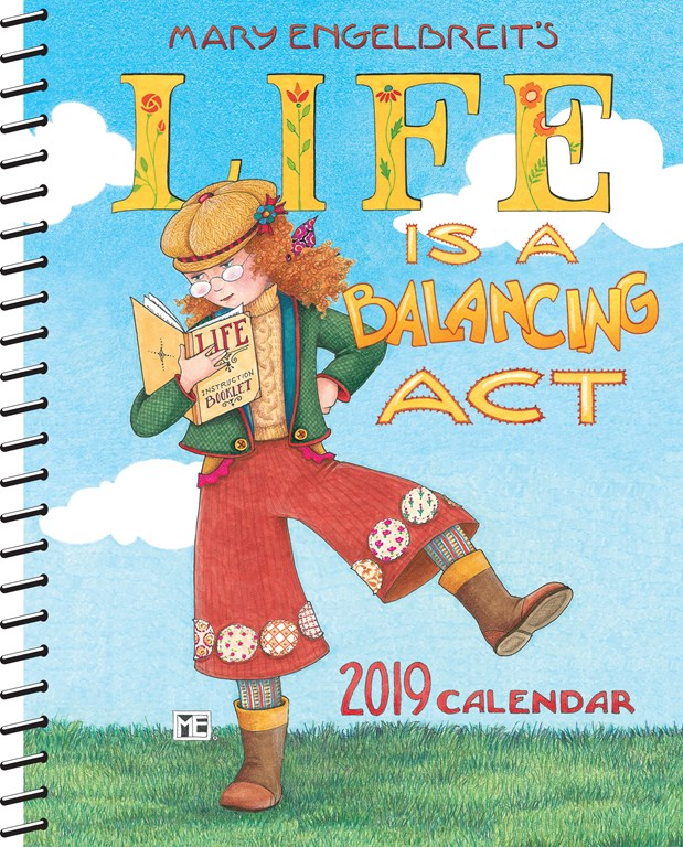 2019 Weekly Planner - Life's A Balancing Act