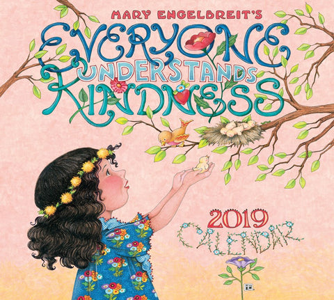 2019 Deluxe Wall Calendar - Everyone Understands Kindness