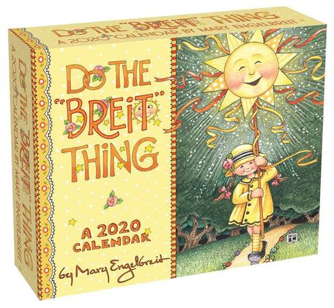 2020 Day to Day Calendar - Do the Breit Thing