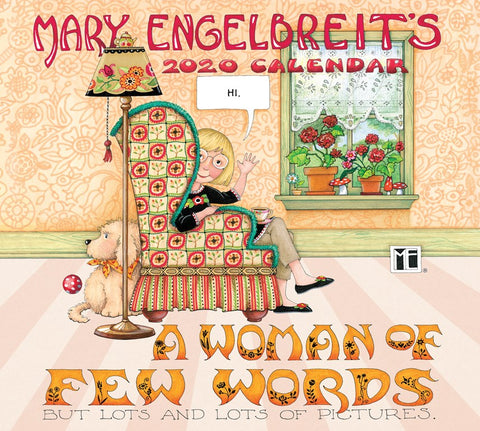 2020 Wall Calendar - A Woman of Few Words
