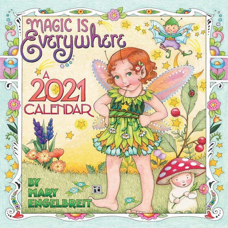 2021 Mini Wall Calendar - Magic Is Everywhere