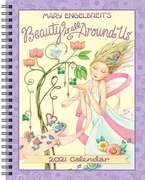 2021 Weekly Planner - Beauty Is All Around Us